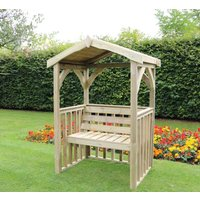Product photograph showing Churnet Valley Anastasia 2 Seater Garden Arbour