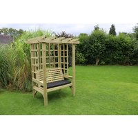 Product photograph showing Churnet Valley Beatrice 2 Seater Garden Arbour