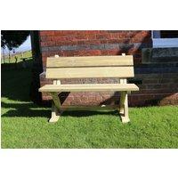 Ashcome 2 Seater Garden Bench - Churnet Valley