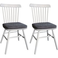Classic Compton Painted Dining Chair with Seat Pad (Pair)
