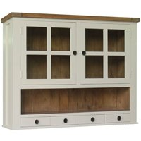 Click to view product details and reviews for Melton Large Dresser Top Reclaimed Pine and White Painted.