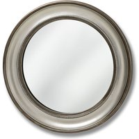 Product photograph showing Clearance Half Price - Hill Interiors Detailed Round Wall Mirror - 90cm X 90cm - New - D017