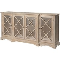 Product photograph showing Clearance - Asbury Reclaimed Pine Lowery Sideboard - New - Fss3282
