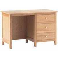 Nimbus Single Desk With Drawers - Corndell Furniture