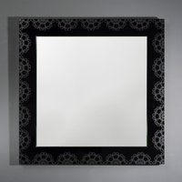 Product photograph showing Deknudt Bruges Square Wall Mirror