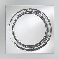 Product photograph showing Deknudt Vista Square Wall Mirror