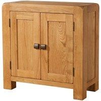 devonshire avon oak display cabinet  2 door