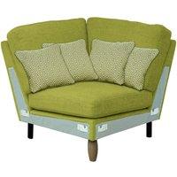 Product photograph showing Ercol Cosenza Square Corner Fabric Sofa Unit