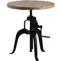 Hill Interiors Draftsman Adjustable Bar Bistro Table