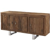 Product photograph showing Railway Sleeper Wood Sideboard