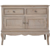 Product photograph showing Calais Grey Washed Sideboard
