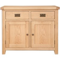 Product photograph showing Perth Natural Oak Sideboard
