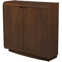 Product photograph showing Jual Universal Walnut Filing Cabinet Pc208