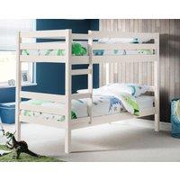 Product photograph showing Julian Bowen Camden Surf White Bunk Bed