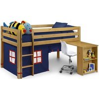 Product photograph showing Julian Bowen Wendy Sleep Station - Pine And Blue