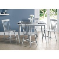 Julian Bowen Torino Lunar Grey Dining Table and 4 Chairs