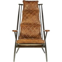 Product photograph showing Bexley Genuine Light Brown Leather Chair