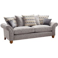 Product photograph showing Lebus Vegas 3 Seater Fabric Sofa