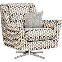 Product photograph showing Lebus Vegas Fabric Swivel Chair