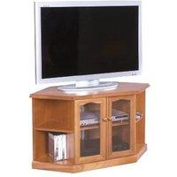 Product photograph showing Nathan Trafalgar Corner Tv Unit