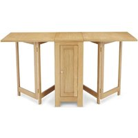 Product photograph showing Hounslow Oak Multi Function Folding Dining Table