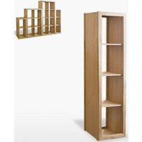 Product photograph showing Tch Windsor Oak Venice Shelf - Win417