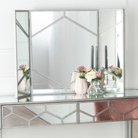 Click to view product details and reviews for Urban Deco Honeycomb Triple Vanity Mirror.