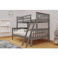 Product photograph showing Vida Living Dux Grey Bunk Bed