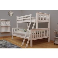 Product photograph showing Vida Living Dux White Bunk Bed