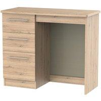 Sherwood Bordeaux Oak Dressing Table - Vanity Knee Hole