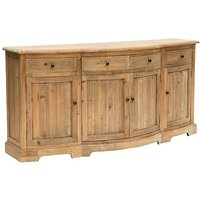 Product photograph showing Willis And Gambier Revival Becton 4 Door 4 Drawer Wide Sideboard