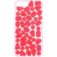 Claire's Candy Pink Jewel Phone Case - Fits Iphone 6/7/8 Plus - Jewel Gifts