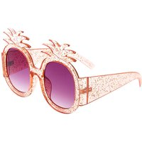 Claire's Pineapple Sunglasses - Pink - Sunglasses Gifts