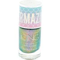 Claire's Mermazing Chrome Nail Polish - Mermaid Oil Blue - Nail Gifts