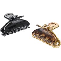 Claire's Leopard Print Hair Claws - 2 Pack - Leopard Print Gifts