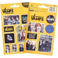Claire's The Vamps Sticker Pack - Boy Bands Gifts