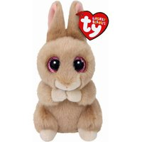 Claire's Ty Basket Beanie Ginger The Tan Bunny Soft Toy - Beanie Gifts