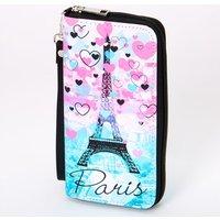 Claire's Paris Hearts Ombre Wristlet - Pink - Paris Gifts