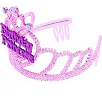 Claire's Club Birthday Princess Tiara - Pink - Princess Gifts