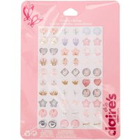Claire's Club Ballet Stick On Earrings - 30 Pack - Ballet Gifts