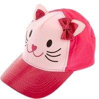 Claire's Kids Pink Glitter Cat Baseball Cap - Baseball Gifts