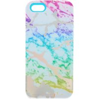 Claire's Rainbow Marble Protective Phone Case - Fits Iphone 5/5S/se - Iphone Gifts