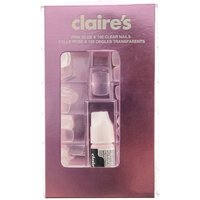 Claire's Clear False Nails - 100 Pack - Nails Gifts