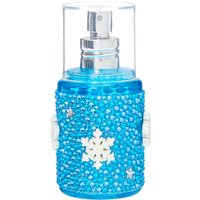 Claire's Blue Snowflake Bling Body Spray - Blue Raspberry - Bling Gifts