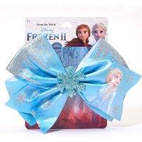 Claire's ©Disney Frozen 2 Large Hair Bow Clip - Blue - Disney Frozen Gifts