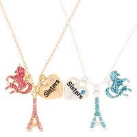 Claire's Sisters Paris Magic Pendant Necklaces - 2 Pack - Necklaces Gifts