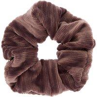 Claire's Medium Ribbed Velvet Hair Scrunchie - Dove Grey Bracelet - Hair Gifts