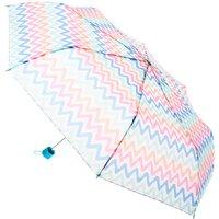 Claire's Pastel Chevron Umbrella - Umbrella Gifts