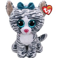 Claire's Ty Beanie Boo Large Quinn The Cat Soft Toy - Soft Gifts