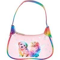 Claire's Kids Puppy & Kitty Rainbow Strap Purse - Puppy Gifts